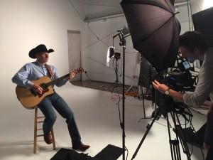 """Filming """"Cowboy Ride"""""""